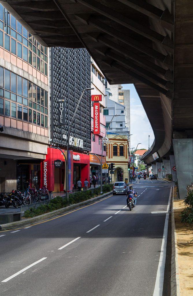 Fabian Fröhlich, Kuala Lumpur, Jalan Tun Perak