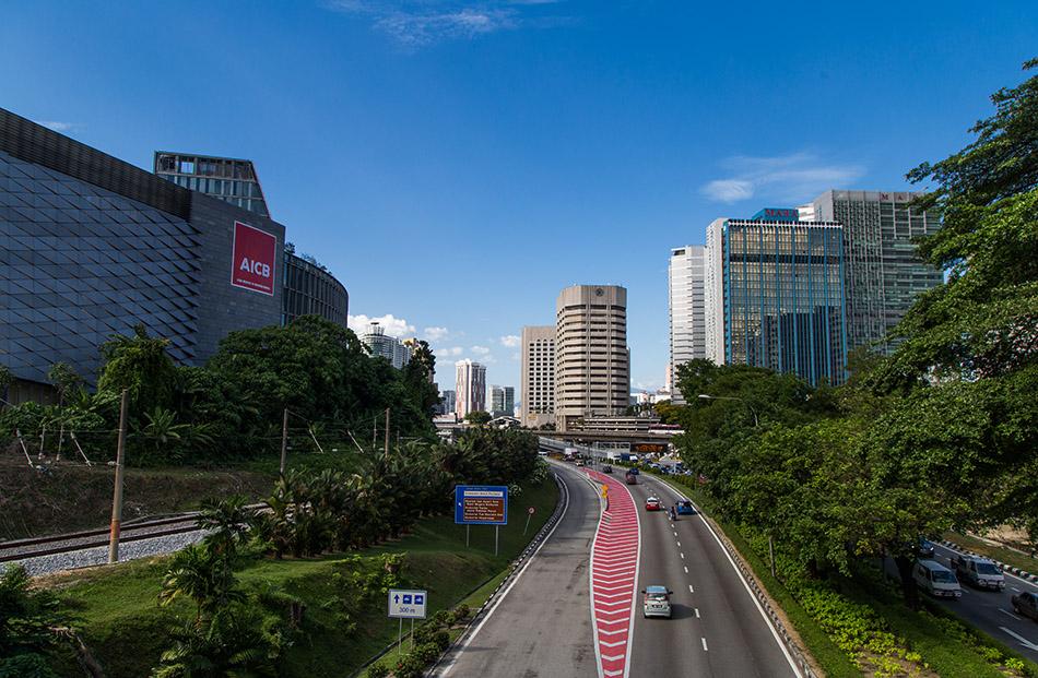 Fabian Fröhlich, Kuala Lumpur, Jalan Kinabalu