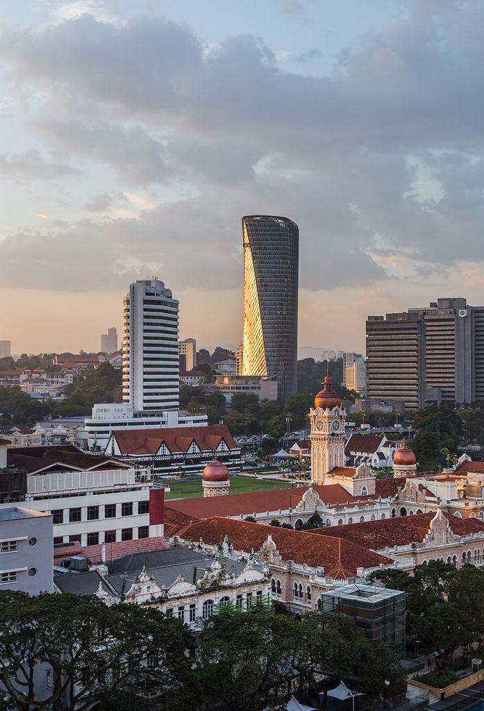 Fabian Fröhlich, Kuala Lumpur, View from Pacific Express Hotel to Dataran Merdeka