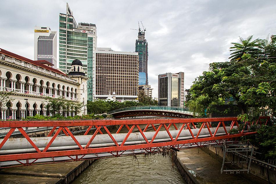 Fabian Fröhlich, Kuala Lumpur, Sungai Gombak