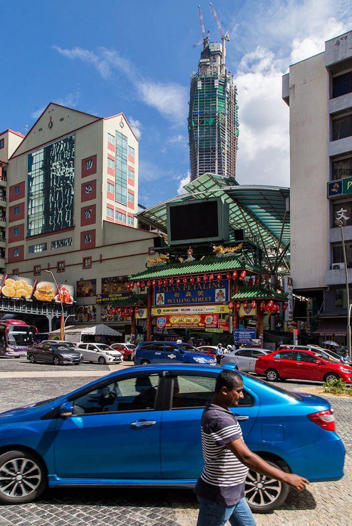 Fabian Fröhlich, Kuala Lumpur, Entrance to Jalan Petaling