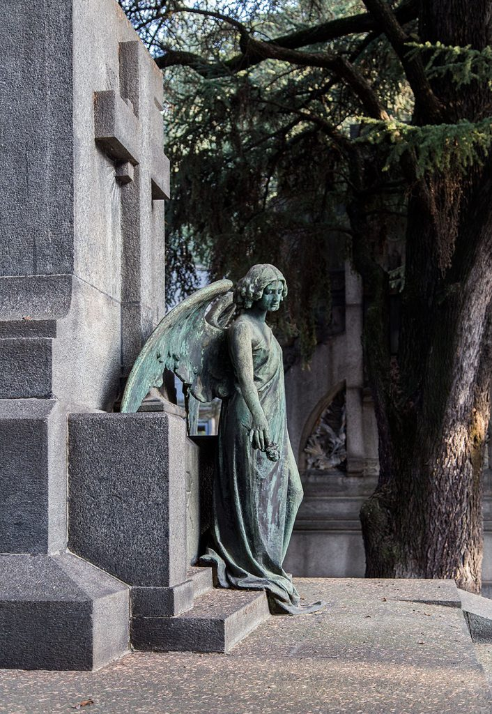 Fabian Fröhlich, Cimitero Monumentale Milano, Antoniani family tomb