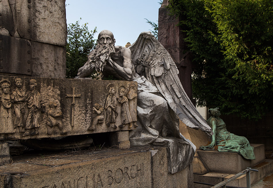 Fabian Fröhlich, Cimitero Monumentale Milano, Borghi family tomb