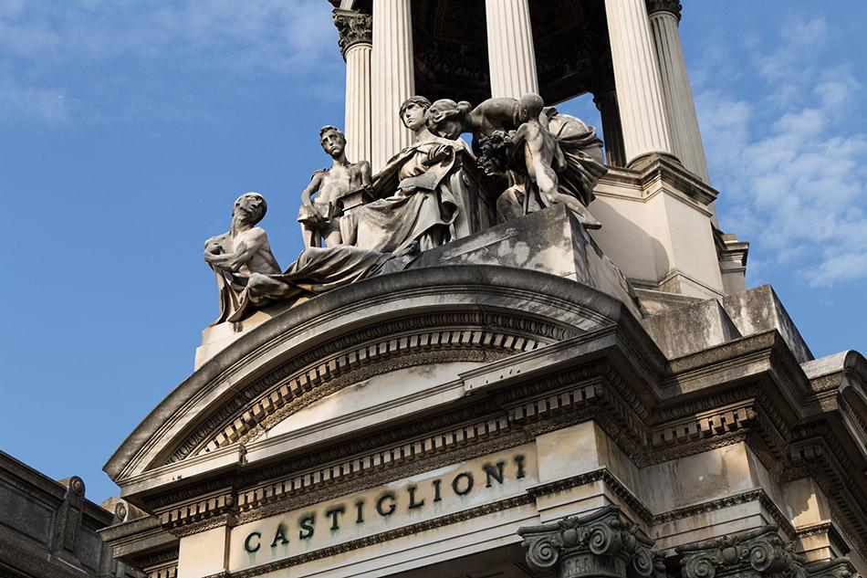 Fabian Fröhlich, Cimitero Monumentale Milano, Castiglione family tomb