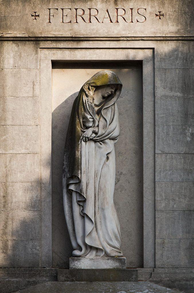 Fabian Fröhlich, Cimitero Monumentale Milano, Ferraris family tomb