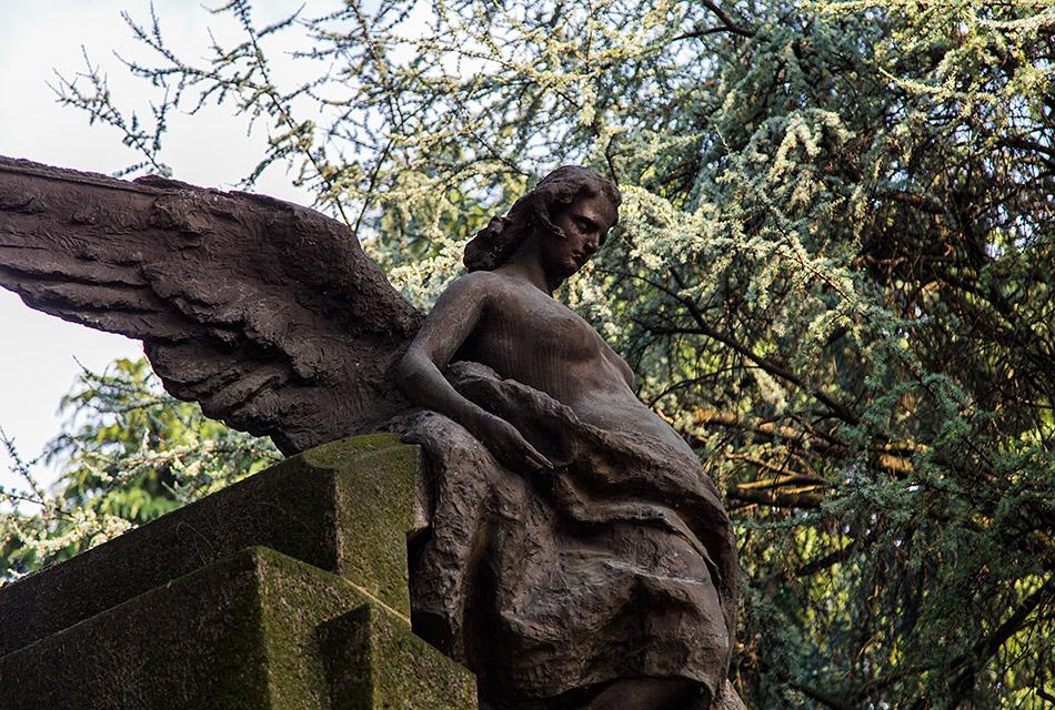 Fabian Fröhlich, Cimitero Monumentale Milano, Pierd'Houy family tomb