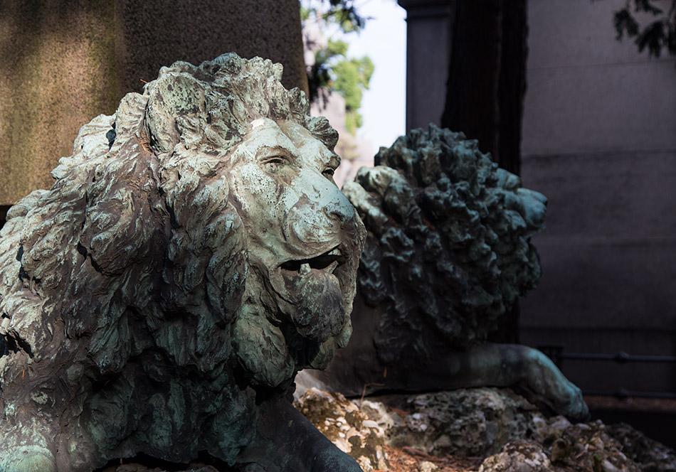 Fabian Fröhlich, Cimitero Monumentale Milano, Lions