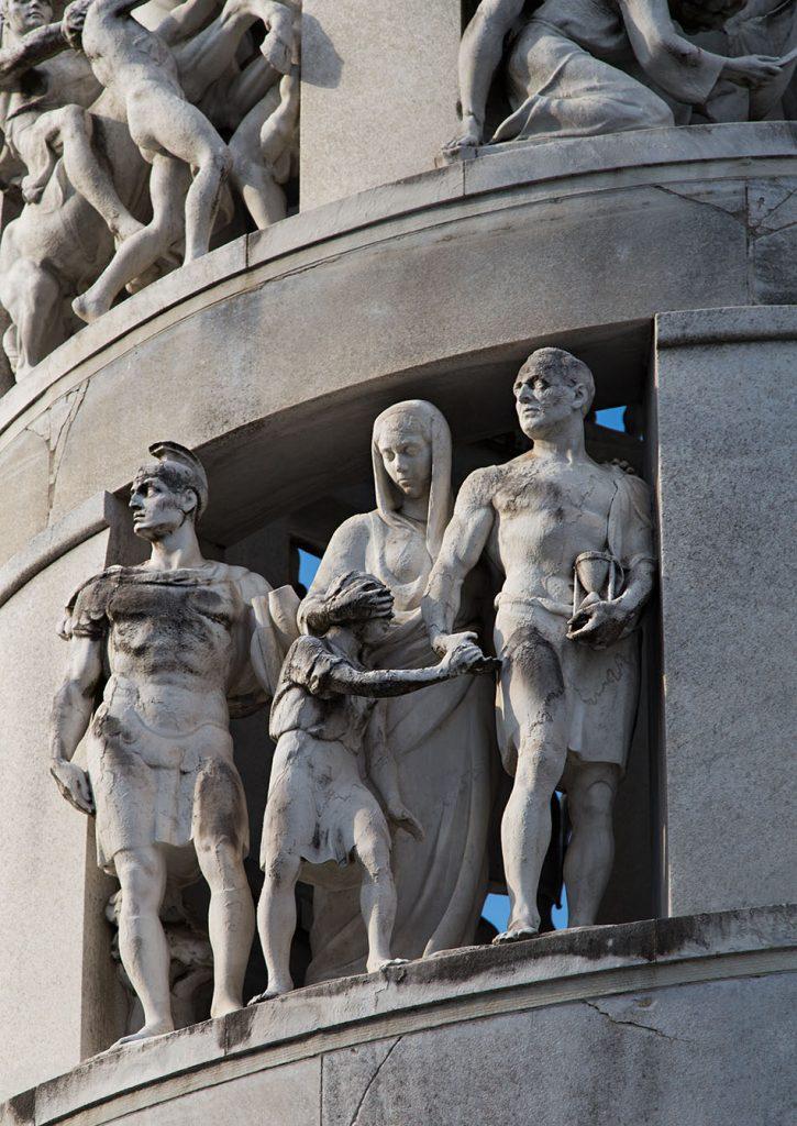 Fabian Fröhlich, Cimitero Monumentale Milano, Tomb of Antonio Bernocchi by Giannino Castiglioni