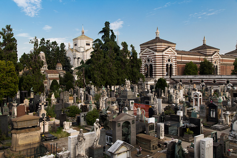 Fabian Fröhlich, Cimitero Monumentale Milano, Tombs