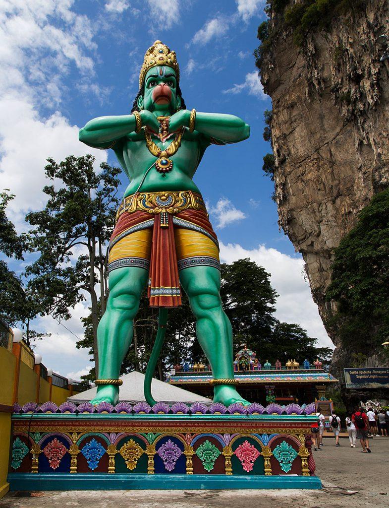 Fabian Fröhlich, Batu Caves, Malaysia, Hanuman statue