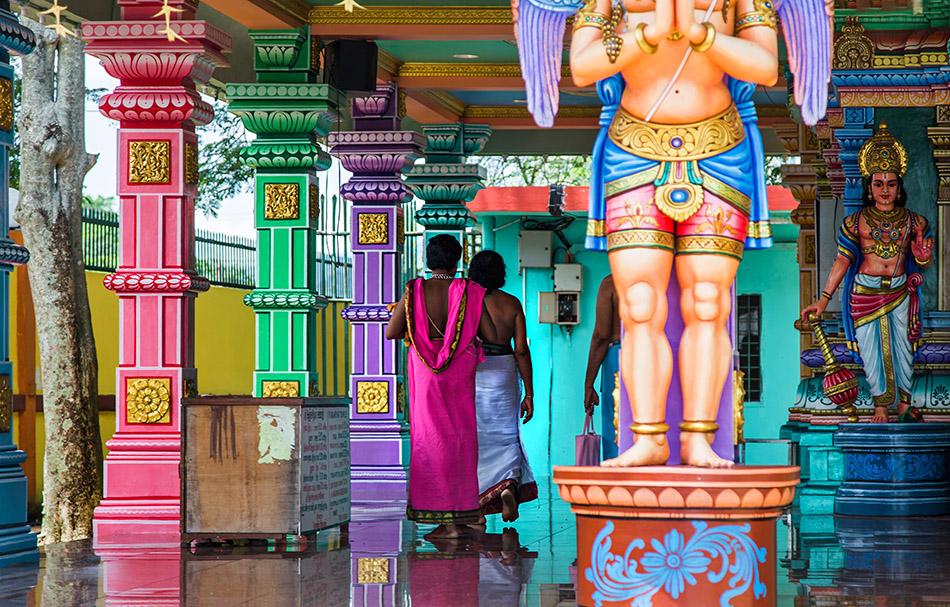 Fabian Fröhlich, Batu Cavesm Sri Venkatachalapathi & Alamelu Temple