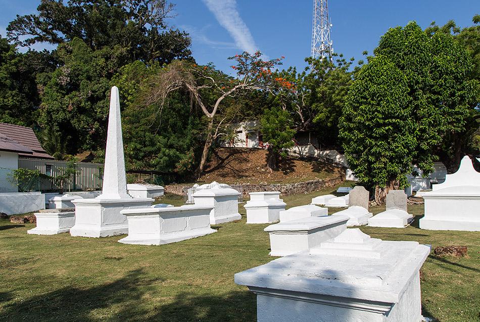 Fabian Fröhlich, Melaka, Dutch Graveyard