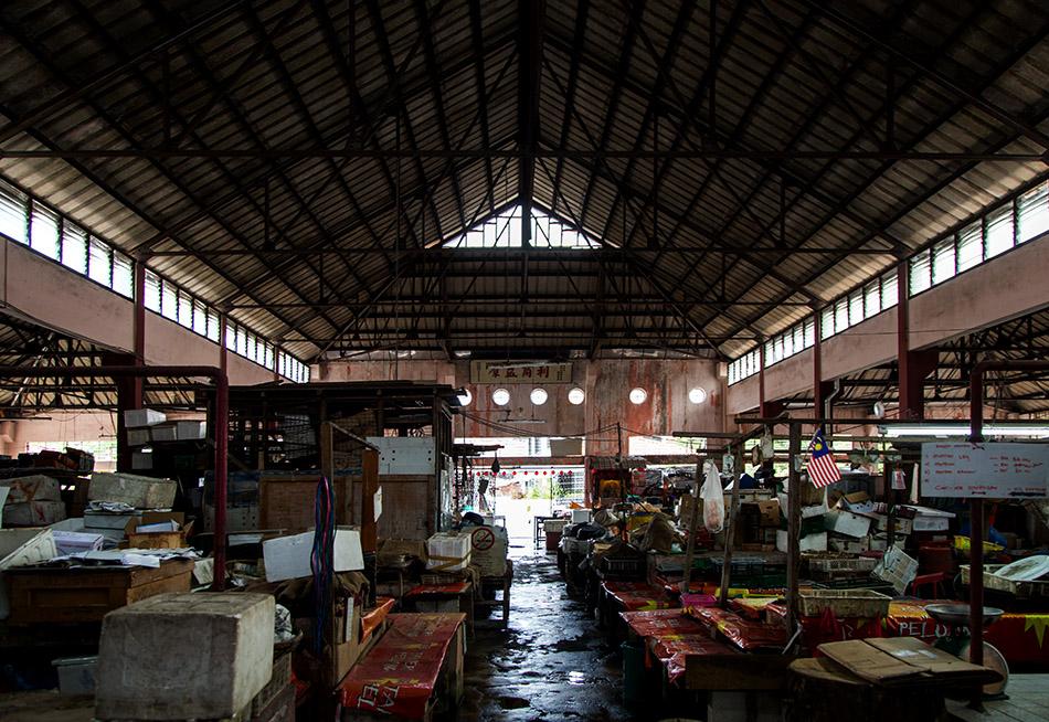 Fabian Fröhlich, Melaka, Gan Hong He Market