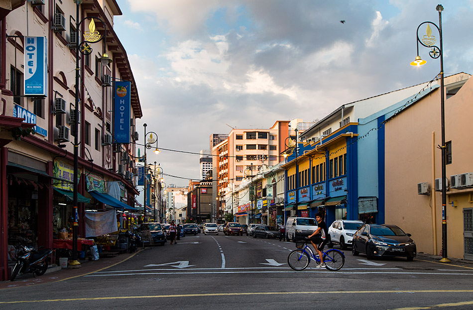 Fabian Fröhlich, Melaka, Jalan Bendahara