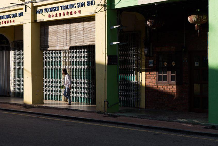 Fabian Fröhlich, Melaka, Jalan Kampung Pantai