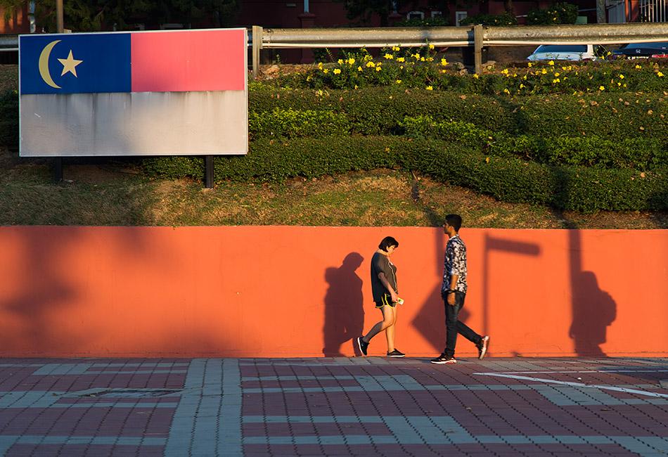 Fabian Fröhlich, Melaka, Jalan Kota