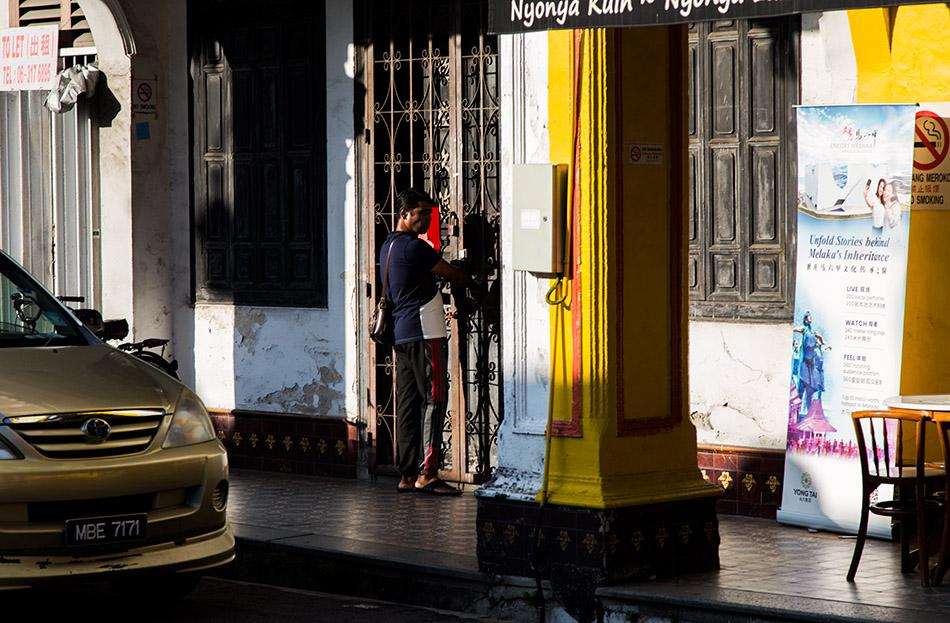 Fabian Fröhlich, Melaka, Jalan Tukang Besi