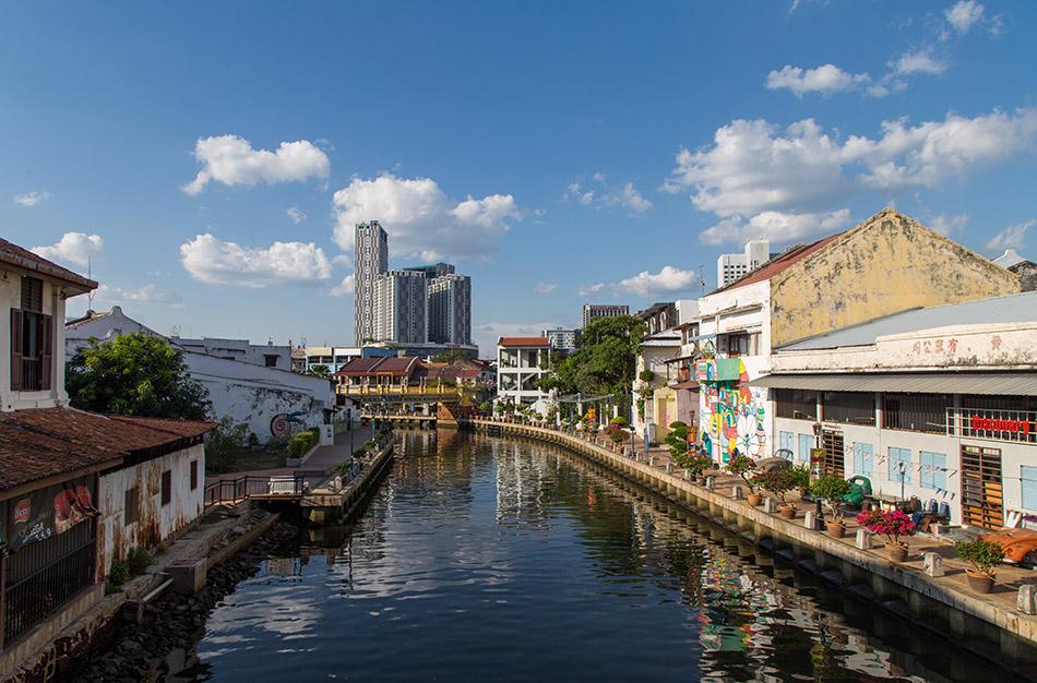 Fabian Fröhlich, Melaka, Malacca River
