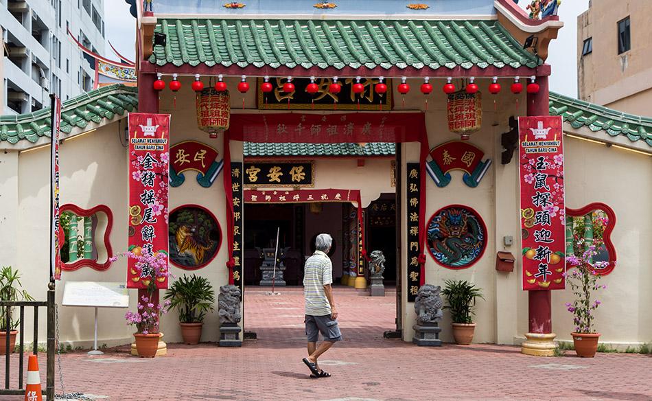 Fabian Fröhlich, Melaka, Poh Onn Kong Temple