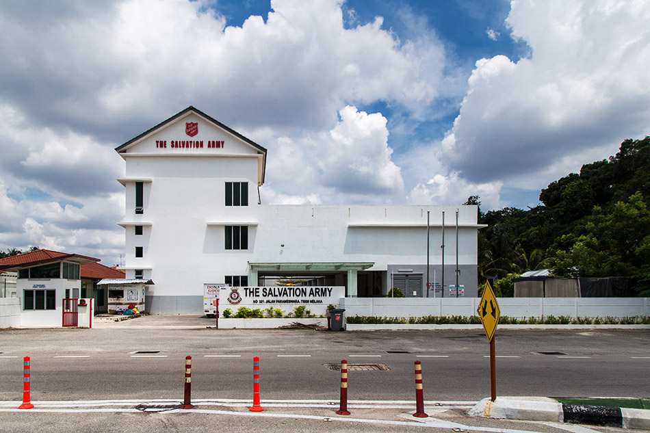 Fabian Fröhlich, Melaka, Salvation Army