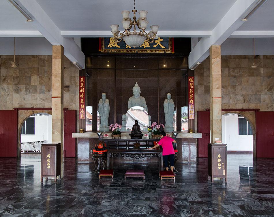 Fabian Fröhlich, Melaka, Xiang Lin Si Temple