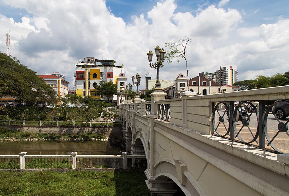 Fabian Fröhlich, Ipoh, Sungai Kinta Bridge