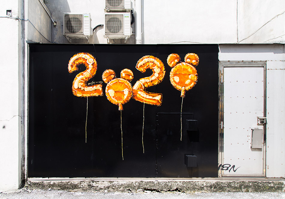 Fabian Fröhlich, Ipoh, Mural Art's Lane