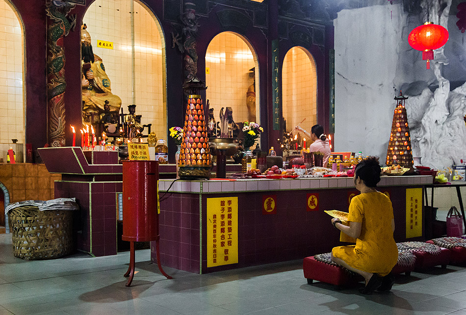 Fabian Fröhlich, Ipoh, Nam Thean Tong Temple