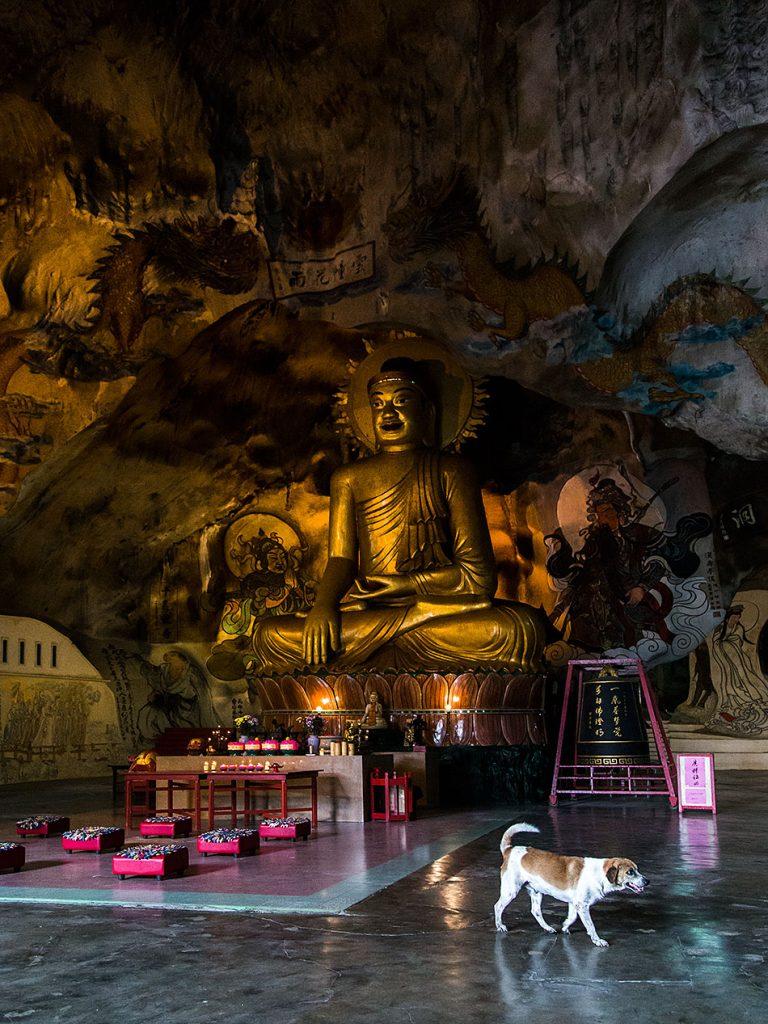 Fabian Fröhlich, Ipoh, Buddha statue, Perak Tong Cave Temple