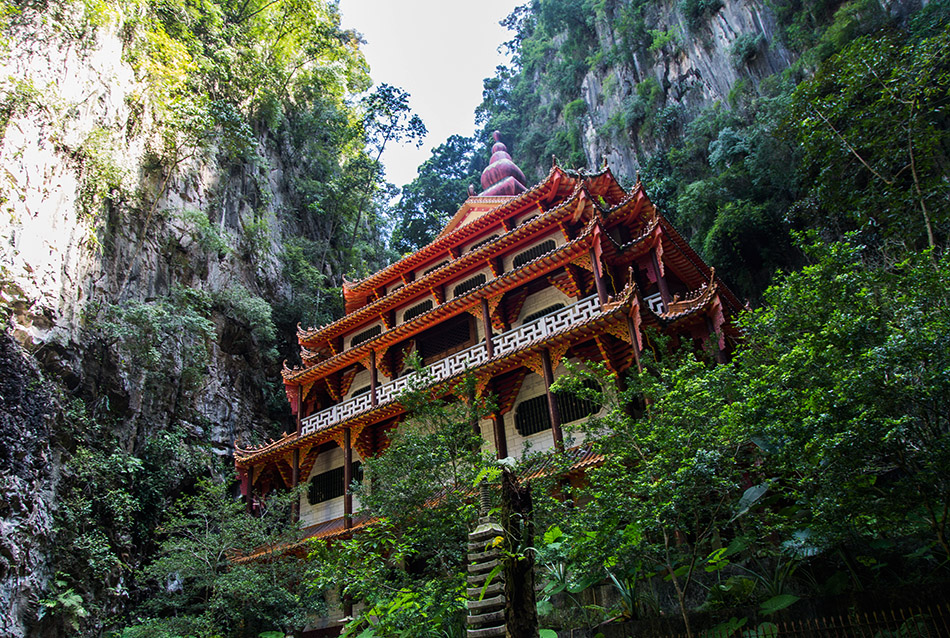 Fabian Fröhlich, Ipoh, Sam Poh Tong Cave Temple