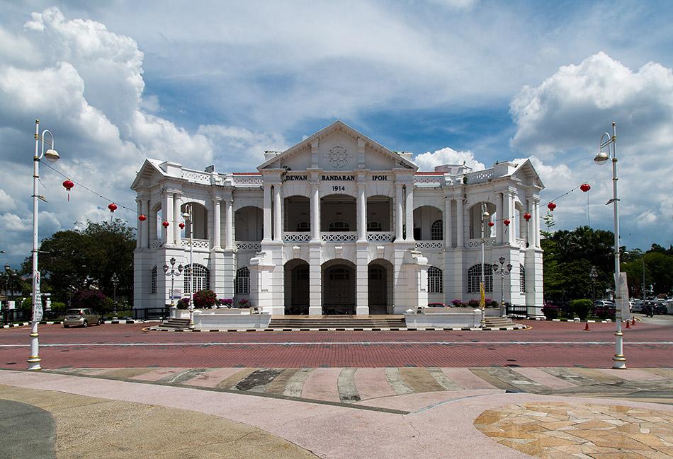 Fabian Fröhlich, Ipoh, Town Hall (Dewarn Bandaran)