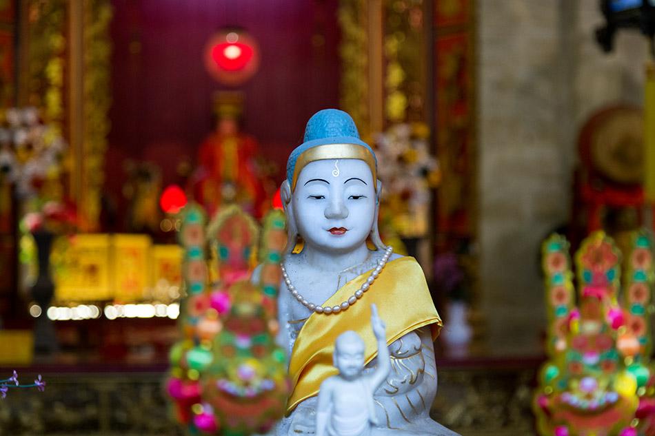 Fabian Fröhlich, Penang, George Town, Hainan Temple