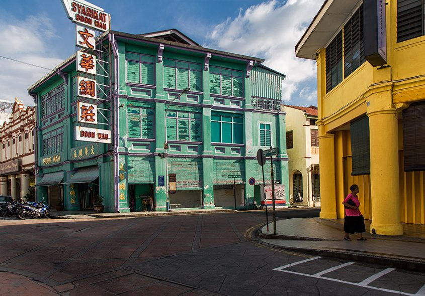 Fabian Fröhlich, Penang, George Town, Lebuh Campbell