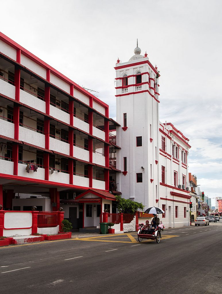 Fabian Fröhlich, Penang, George Town, Lebuh Pantai Fire and Rescue Station
