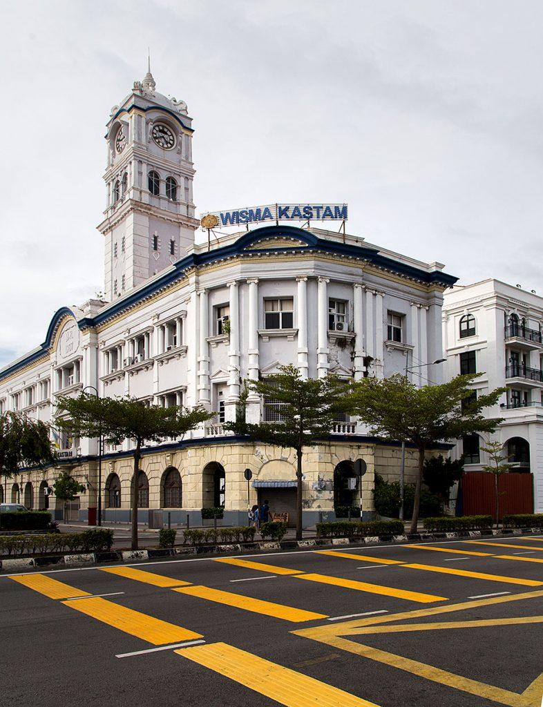 Fabian Fröhlich, Penang, George Town, Malayan Railway Building