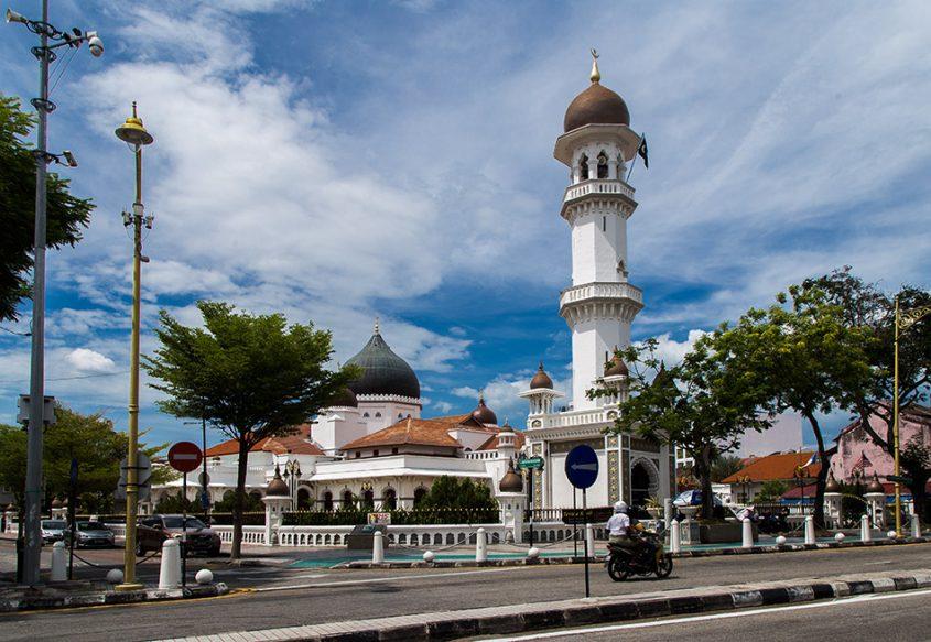 Fabian Fröhlich, Penang, George Town, Masjid Kapitan Keling