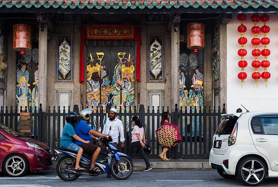 Fabian Fröhlich, Penang, George Town, Hock Teik Cheng Sin Temple