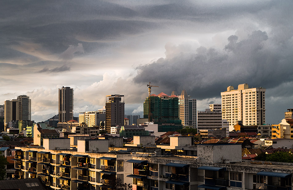 Fabian Fröhlich, Penang, George Town, View from Armenian Street Heritage Hotel