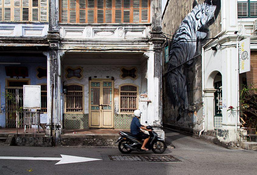 Fabian Fröhlich, Penang, George Town, Tiger Mural
