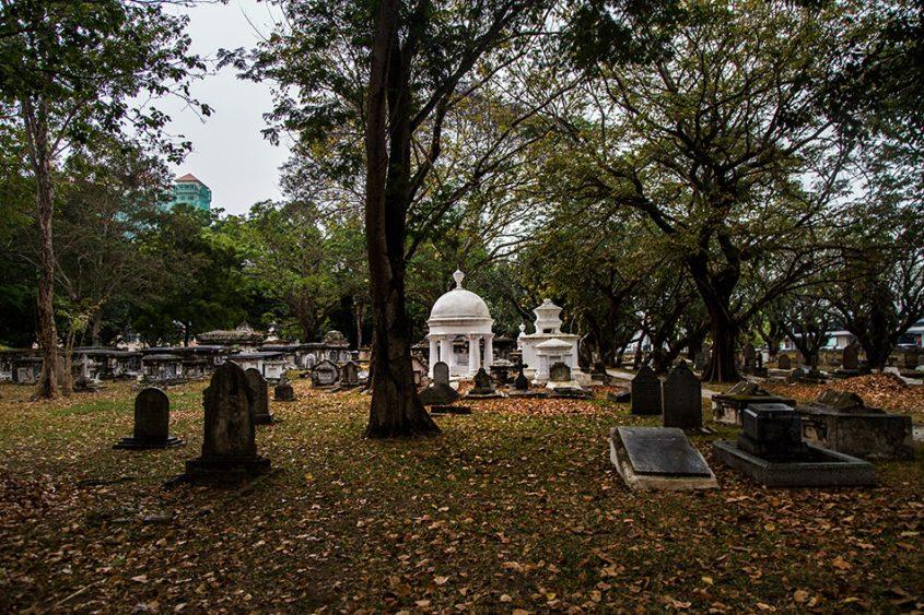 Fabian Fröhlich, Penang, George Town, Western Cemetery