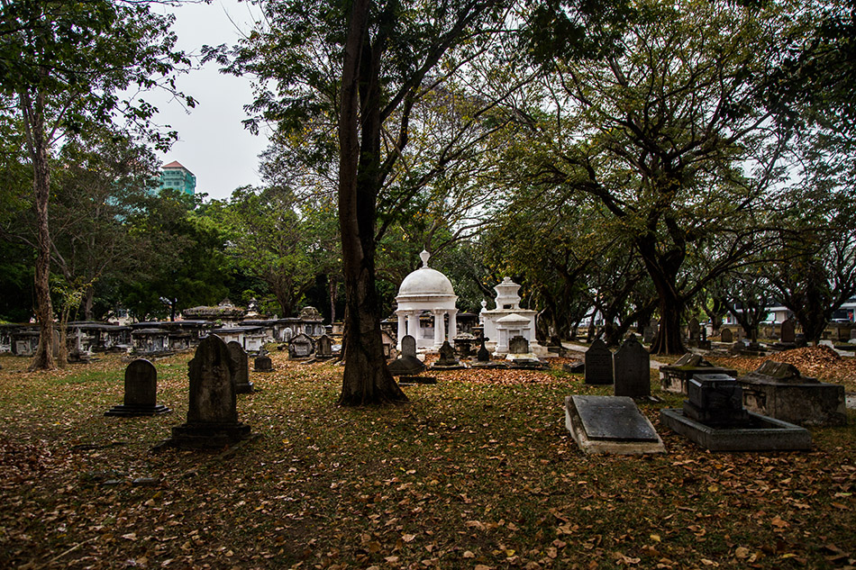Fabian Fröhlich, Penang, George Town, Western Cemetery