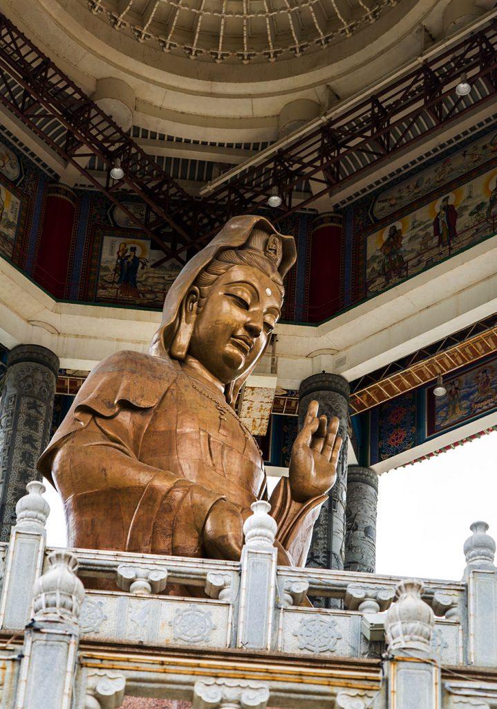 Fabian Fröhlich, Penang, Kek Lok Si Temple,Kek Lok Si, Statue of Guanyin