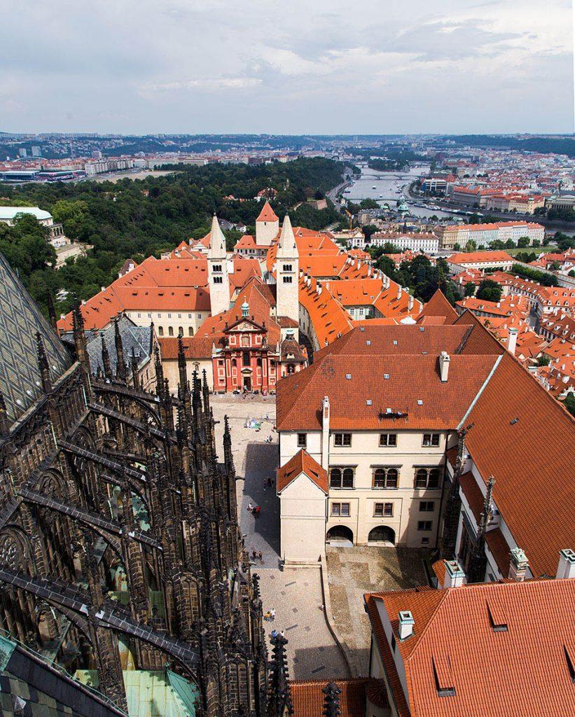 Fabian Fröhlich, Prager Burg, Blick vom Veitsdom