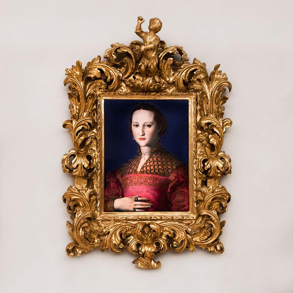Fabian Fröhlich, Palais Schwarzenberg, Agnolo Bronzino Portrait of Eleanor of Toledo
