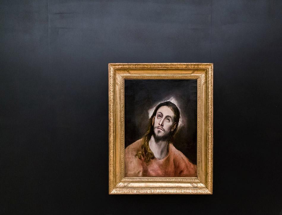 Fabian Fröhlich, Palais Schwarzenberg, El Greco, Christus im Gebet