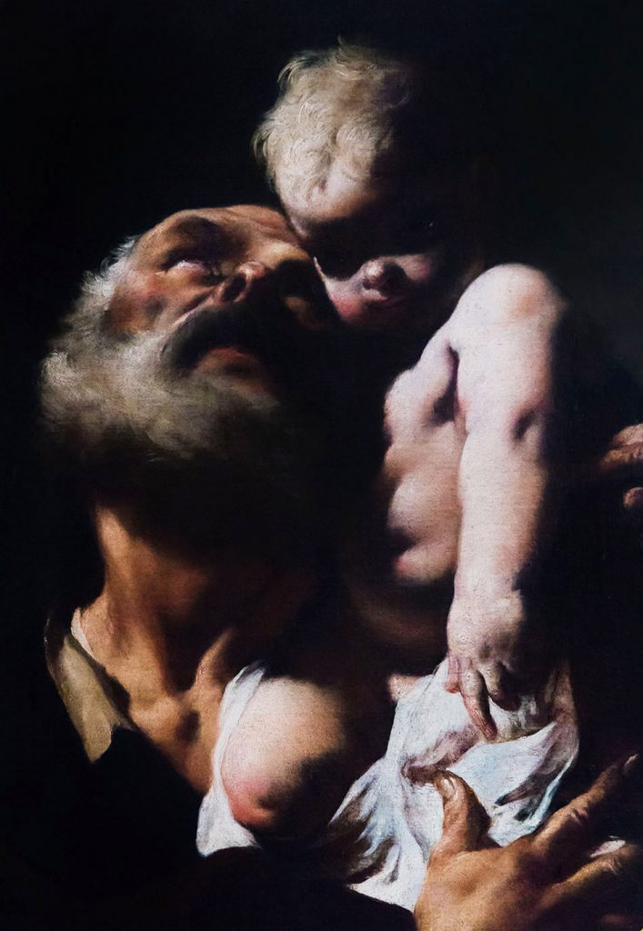 Fabian Fröhlich, Palais Schwarzenberg, Giambattista Piazzetta, Hl. Joseph mit dem Jesuskind