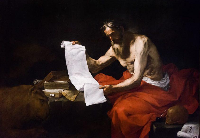 Fabian Fröhlich, Palais Schwarzenberg, Jusepe de Ribera, Heiliger Hieronymus