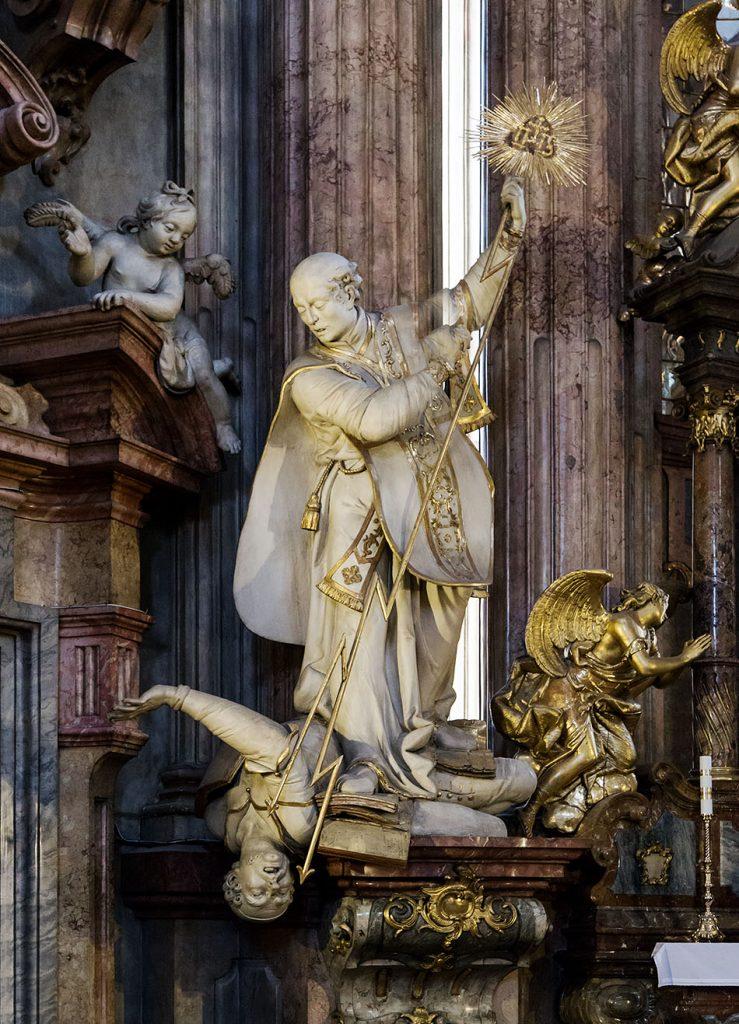Fabian Frählich, Prag, St. Nikolaus auf der Kleinseite, Heliger Cyril