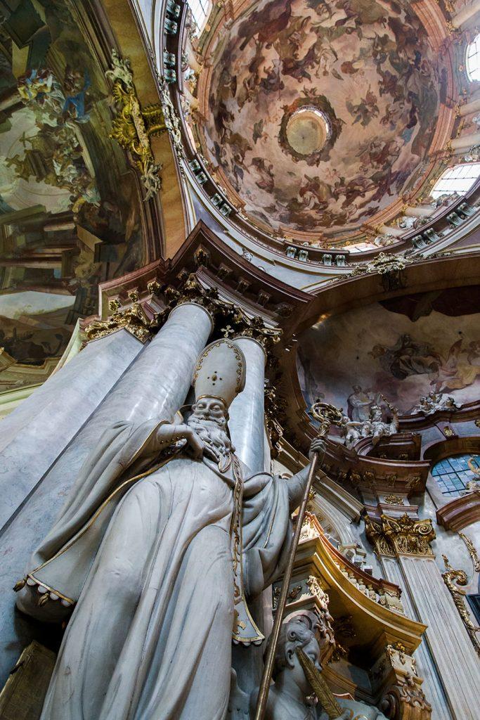 Fabian Frählich, Prag, St. Nikolaus auf der Kleinseite, Hl. Basilius