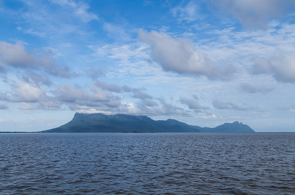 Fabian Fröhlich, Borneo, Bako National Park, View to Santubong